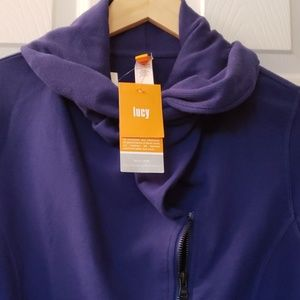 Lucy NWT Hatha Flow Jacket cobalt blueSize M women